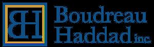 Boudreau-Haddad Inc. Retina Logo